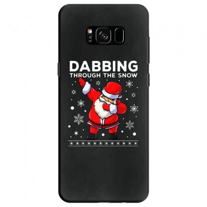 Dabbing Through The Snow Santa Dab Christmas Samsung Galaxy S8 Case Designed By Meganphoebe