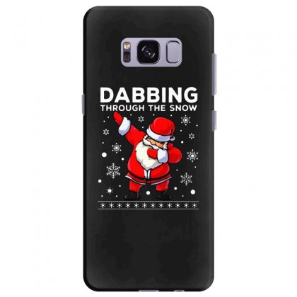 Dabbing Through The Snow Santa Dab Christmas Samsung Galaxy S8 Plus Case Designed By Meganphoebe