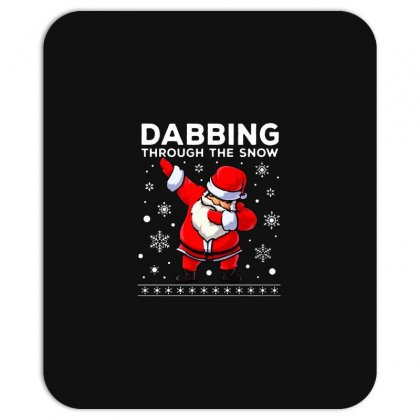 Dabbing Through The Snow Santa Dab Christmas Mousepad Designed By Meganphoebe