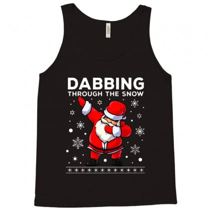 Dabbing Through The Snow Santa Dab Christmas Tank Top Designed By Meganphoebe