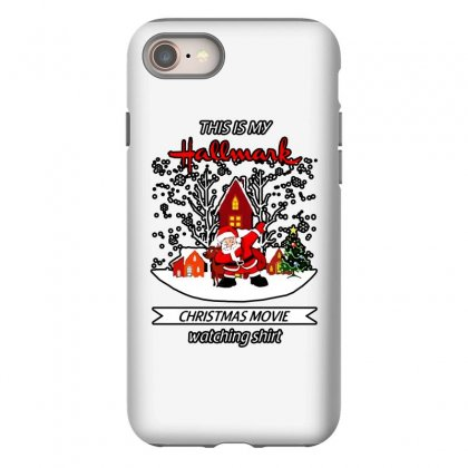 Dabbing Santa Claus This Is Hallmark Christmas Movie Watching Iphone 8 Case Designed By Meganphoebe