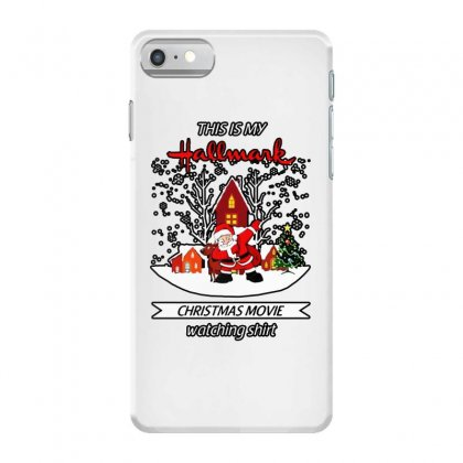 Dabbing Santa Claus This Is Hallmark Christmas Movie Watching Iphone 7 Case Designed By Meganphoebe
