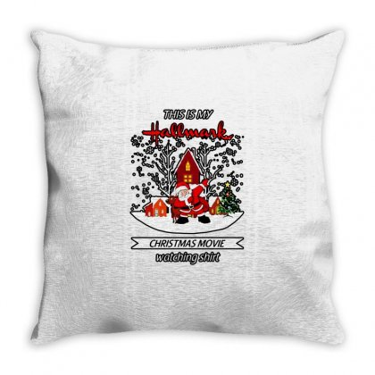 Dabbing Santa Claus This Is Hallmark Christmas Movie Watching Throw Pillow Designed By Meganphoebe