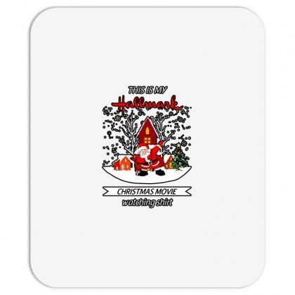 Dabbing Santa Claus This Is Hallmark Christmas Movie Watching Mousepad Designed By Meganphoebe