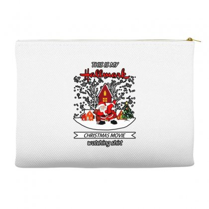 Dabbing Santa Claus This Is Hallmark Christmas Movie Watching Accessory Pouches Designed By Meganphoebe
