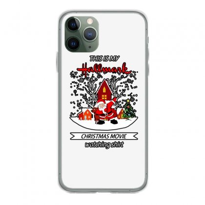 Dabbing Santa Claus This Is Hallmark Christmas Movie Watching Iphone 11 Pro Case Designed By Meganphoebe