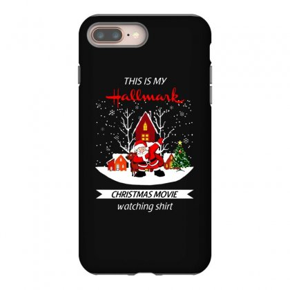 Dabbing Santa Claus This Is Hallmark Christmas Movie Watching Iphone 8 Plus Case Designed By Meganphoebe