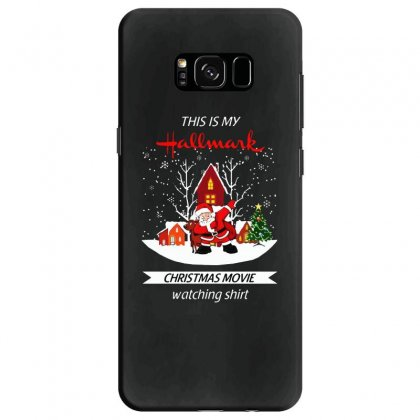 Dabbing Santa Claus This Is Hallmark Christmas Movie Watching Samsung Galaxy S8 Case Designed By Meganphoebe
