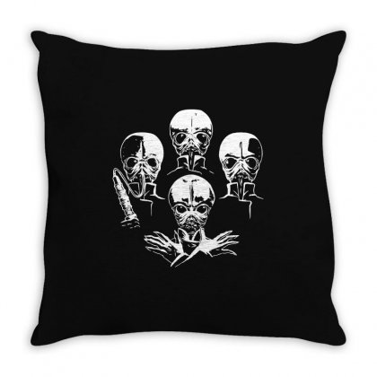 Cantina Baand Aliens Parody Throw Pillow Designed By Meganphoebe