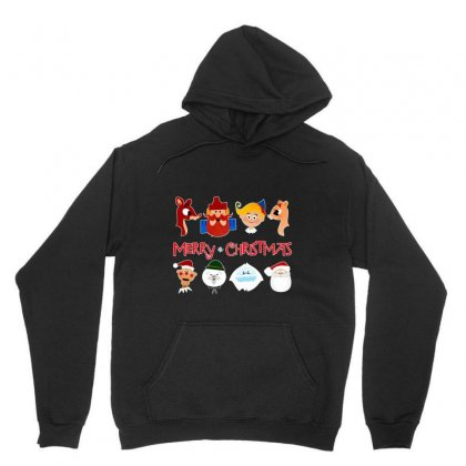 Rudolph The Red Nosed Reindeer Unisex Hoodie Designed By Meganphoebe