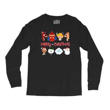 Rudolph The Red Nosed Reindeer Long Sleeve Shirts Designed By Meganphoebe