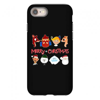Rudolph The Red Nosed Reindeer Iphone 8 Case Designed By Meganphoebe