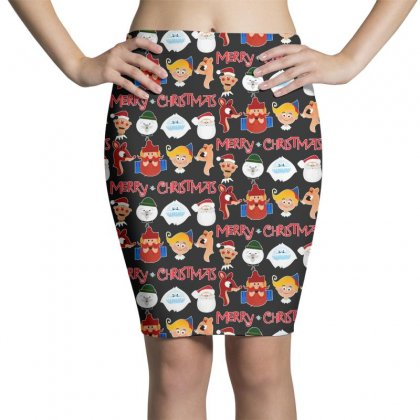 Rudolph The Red Nosed Reindeer Pencil Skirts Designed By Meganphoebe