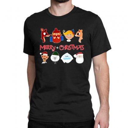 Rudolph The Red Nosed Reindeer Classic T-shirt Designed By Meganphoebe