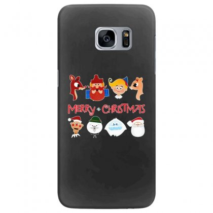 Rudolph The Red Nosed Reindeer Samsung Galaxy S7 Edge Case Designed By Meganphoebe