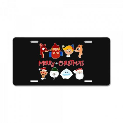 Rudolph The Red Nosed Reindeer License Plate Designed By Meganphoebe
