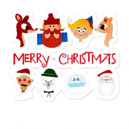 Rudolph The Red Nosed Reindeer Sticker Designed By Meganphoebe