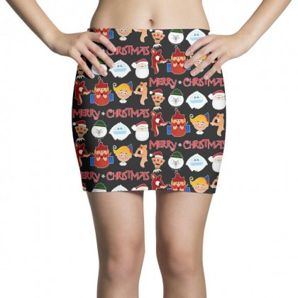 Rudolph The Red Nosed Reindeer Mini Skirts Designed By Meganphoebe