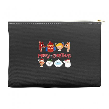 Rudolph The Red Nosed Reindeer Accessory Pouches Designed By Meganphoebe