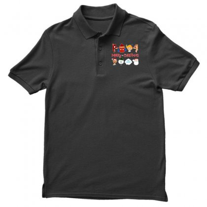 Rudolph The Red Nosed Reindeer Men's Polo Shirt Designed By Meganphoebe