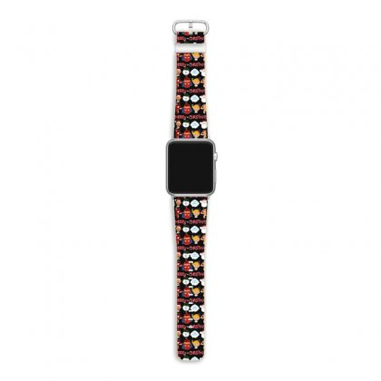 Rudolph The Red Nosed Reindeer Apple Watch Band Designed By Meganphoebe