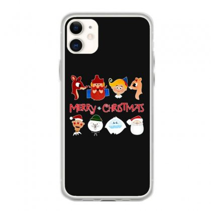 Rudolph The Red Nosed Reindeer Iphone 11 Case Designed By Meganphoebe