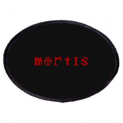 Mortis Oval Patch Designed By Meganphoebe