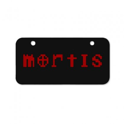 Mortis Bicycle License Plate Designed By Meganphoebe
