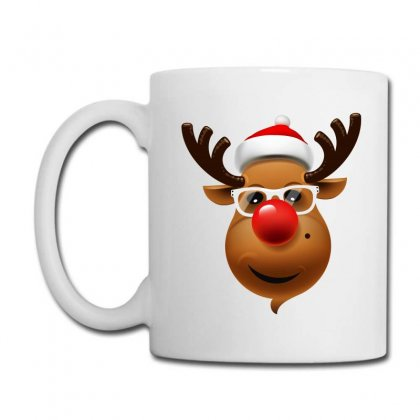 Funny Reindeer Face Coffee Mug Designed By Tiococacola