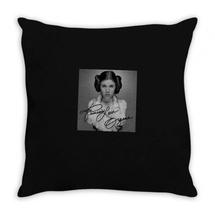 Leia Throw Pillow Designed By Disgus_thing