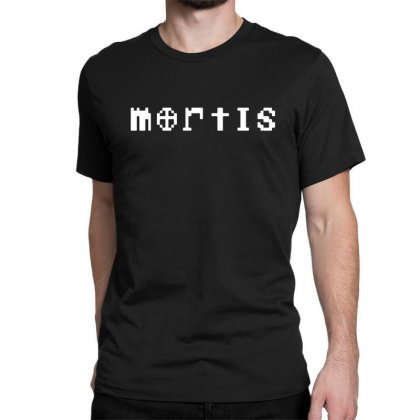 Mortis In White Classic T-shirt Designed By Meganphoebe