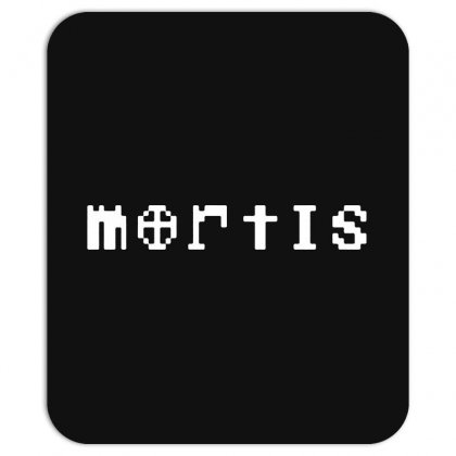 Mortis In White Mousepad Designed By Meganphoebe