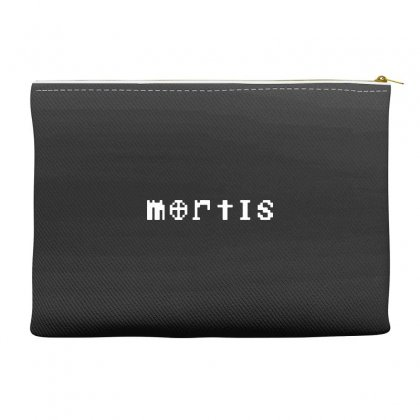 Mortis In White Accessory Pouches Designed By Meganphoebe