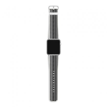 Mortis In White Apple Watch Band Designed By Meganphoebe