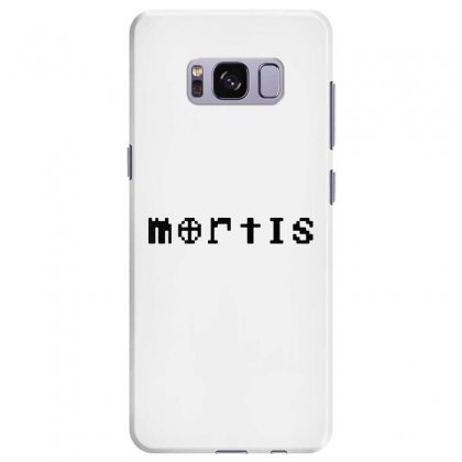 Mortis   In Black Samsung Galaxy S8 Plus Case Designed By Meganphoebe