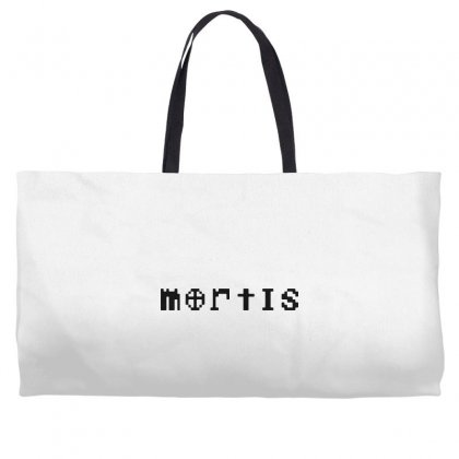 Mortis   In Black Weekender Totes Designed By Meganphoebe