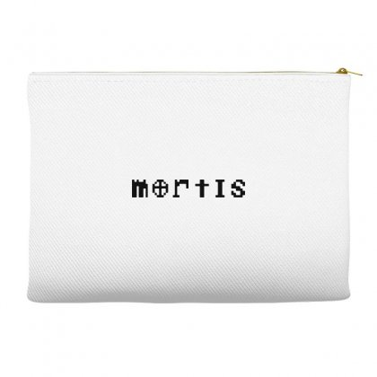 Mortis   In Black Accessory Pouches Designed By Meganphoebe