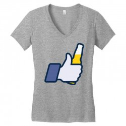 i like beer Women's V-Neck T-Shirt | Artistshot