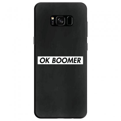 Ok Boomer   White For Fun Samsung Galaxy S8 Case Designed By Meganphoebe