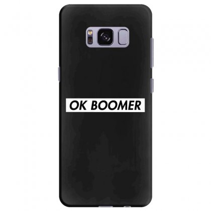 Ok Boomer   White For Fun Samsung Galaxy S8 Plus Case Designed By Meganphoebe