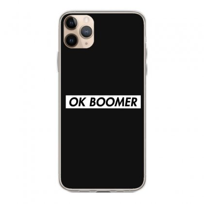 Ok Boomer   White For Fun Iphone 11 Pro Max Case Designed By Meganphoebe