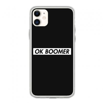 Ok Boomer   White For Fun Iphone 11 Case Designed By Meganphoebe