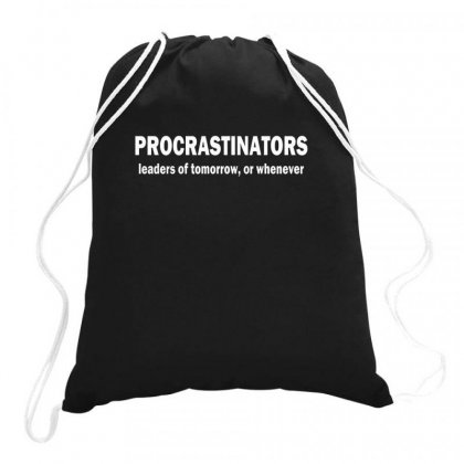 Leaders Drawstring Bags Designed By Disgus_thing