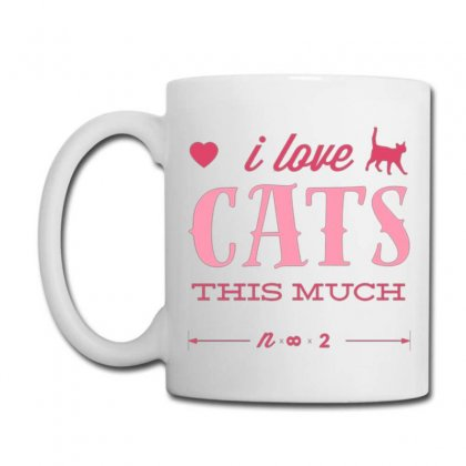 I Love Cats This Much Coffee Mug Designed By Daraart
