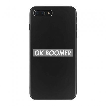 Ok Boomer   Dark For Fun Iphone 7 Plus Case Designed By Meganphoebe