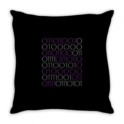 I Love You Binary Code... Great Gift Throw Pillow Designed By Daraart