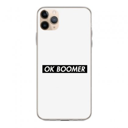 Ok Boomer   Black For Fun Iphone 11 Pro Max Case Designed By Meganphoebe
