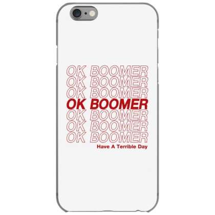 Ok Boomer   Red Style Iphone 6/6s Case Designed By Meganphoebe