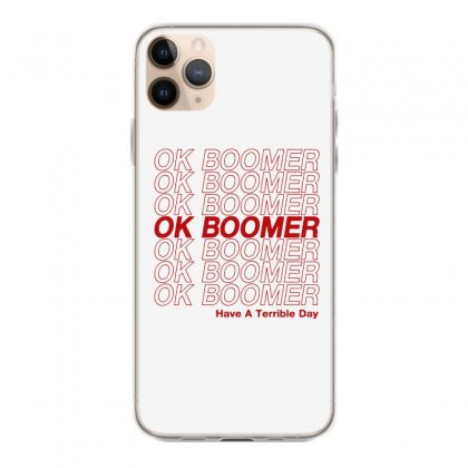 Ok Boomer   Red Style Iphone 11 Pro Max Case Designed By Meganphoebe