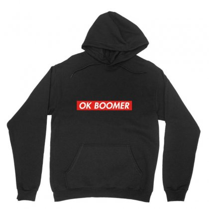 Ok Boomer   For Fun Unisex Hoodie Designed By Meganphoebe